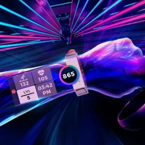 Action-rhythm VR game Synth Riders adds YUR.watch fitness tracker